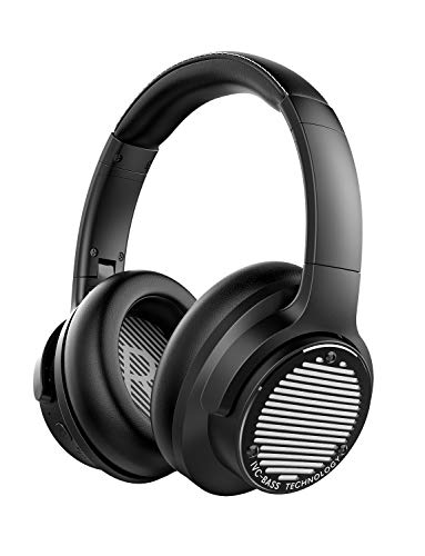AUSDOM BASS ONE Noise Cancelling Headphones, 50 Hrs Playtime Bluetooth 5.0...