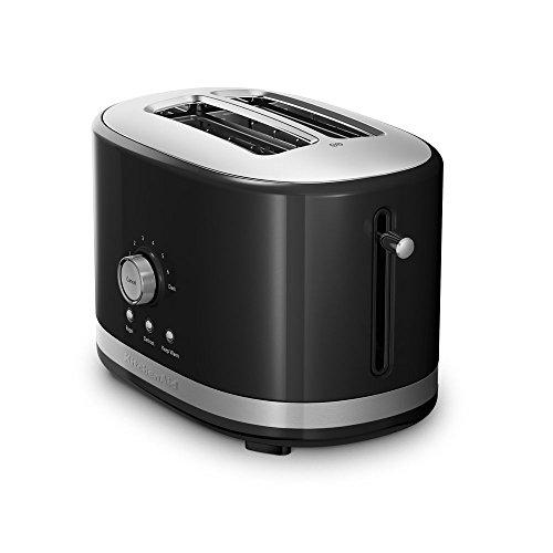 KitchenAid 2-Slice Toaster with High Lift Lever KMT2116OB, Onyx Black (Renewed)