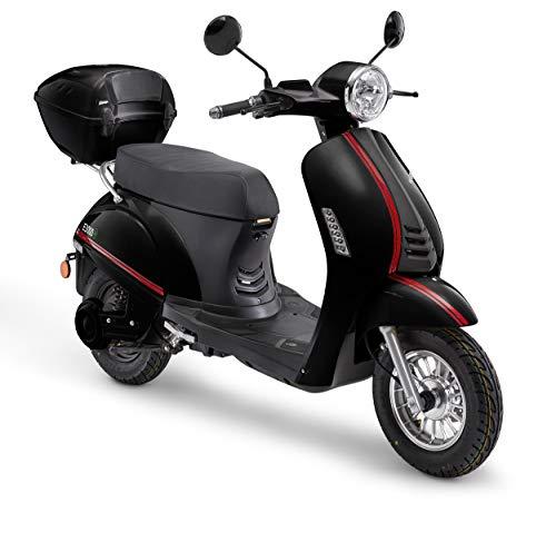 Elektroroller LuXXon E3000 - Elektro Scooter mit 3000 Watt, max. 25 km/h, Reichweite bis zu 60 km, schwarz*