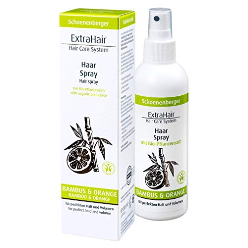 ExtraHair® Haar Spray mit Bio-Pflanzensaft u. Bambusextrakt BDIH (200 ml)