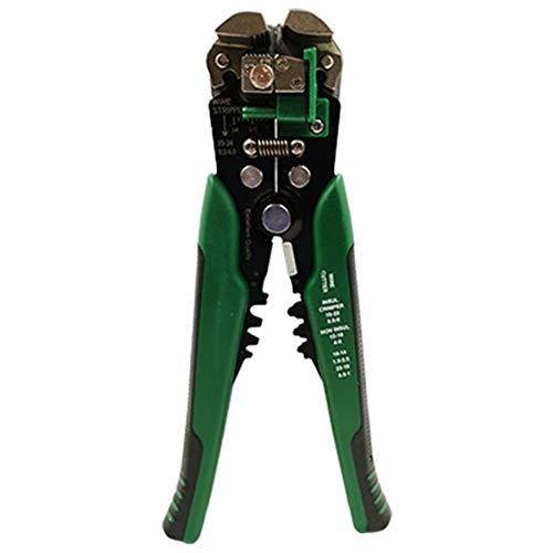 U/D Pimbuster Handwerkzeuge Automatischer Draht Abisolierzange Quetschen Druckkabelschneider Multi Stripping AWG24-10 0.2-6mm2 Crimpen 0.5-6mm2 (Color : D3 Dark Green)