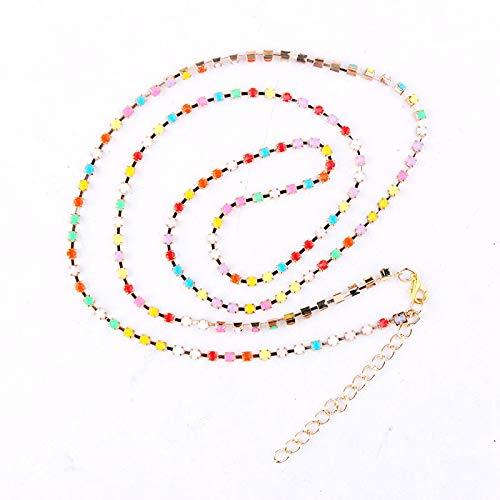 Mano Pulseras Brazalete Joyería Mujer Pulsera De Diamantes De Imitación Multicolor Brillante para Mujer, Brazalete Largo