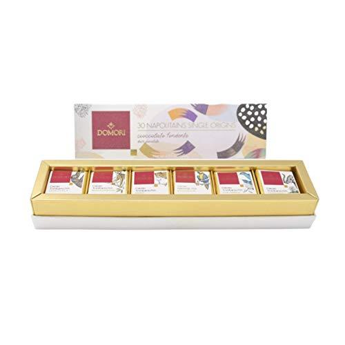 ドモーリ ナポリタン一口チョコ6種30個入りギフトボックス 140g Domori 30 Napolitains Gift Box イタリアを代表するチョコレートブランド