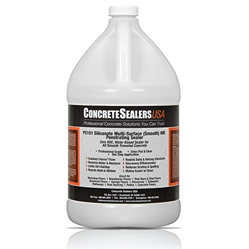 PS101 Siliconate Water Repellent WB Penetrating Sealer (1 Gallon)