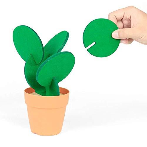 Highquality standard Brandneu! Süßer Kaktus Untersetzer für Tassen und Gläser