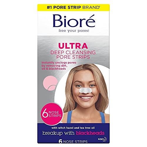 Biore Ultra Pore Strips Pack of 6