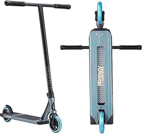 Patinete Blunt Prodigy S8 Park Stunt-Scooter H = 86 120 mm 3,48 kg + pegatina Fantic26 (Street H = 90 gris/azul)