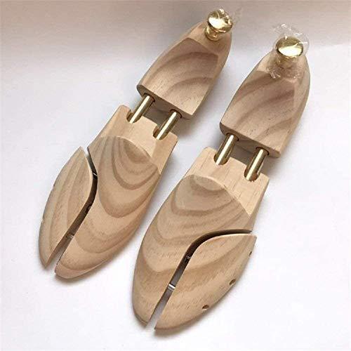 N\A Luck Árbol del Zapato de Madera Maciza de Zapatos Camilla de Madera de Pino Zapato Ajustable de la Talladora del Zapato Árbol Camilla (Size : 41~42)