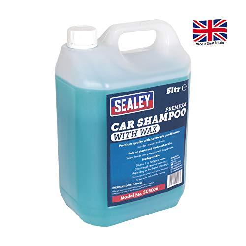 Sealey SCS006 Auto Shampoo Premium met Wax 5ltr