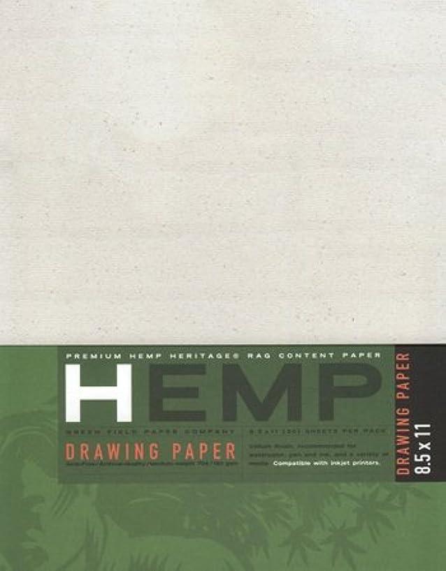 Hemp Drawing Paper Pack 8.5