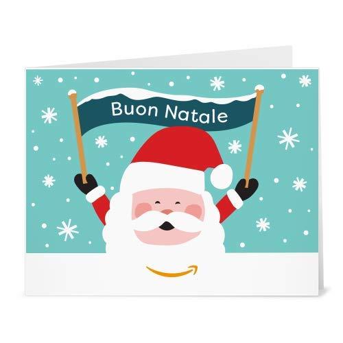 Buono Regalo Amazon.it - Stampa - Babbo Natale e banner