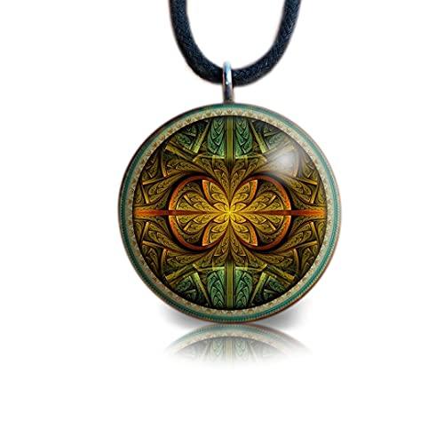 Shaman Pendant   Orgone Pendant   EMF Protection   Orgonite Necklace   Shamanic Amulet   Tesla   Calea