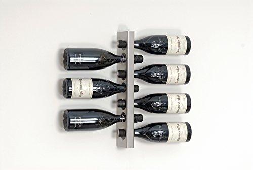 Reinkedesign hochwertiges Design-Weinregal ORIGINAL (7 Flaschen)