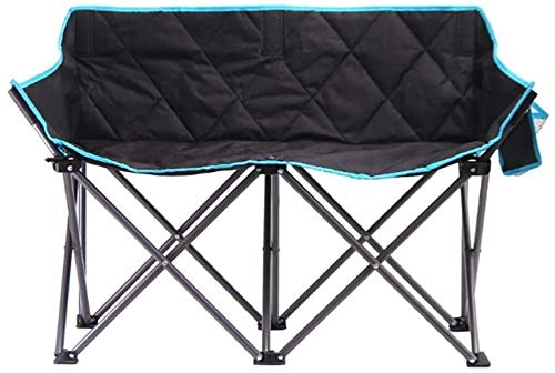 Lanrui Camping Chairs Double Armchair Outdoor Beach Foldable steel frame camping chair To Solve Tired Attitude And Easy To Carry Foldable chair