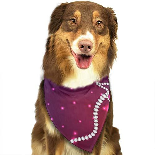 Sitear Cosmos van de sterren van het sterrenbeeld Steenbok hond kat Bandana driehoek slabbetjes sjaal huisdier geschikt voor kleine tot grote hond katten