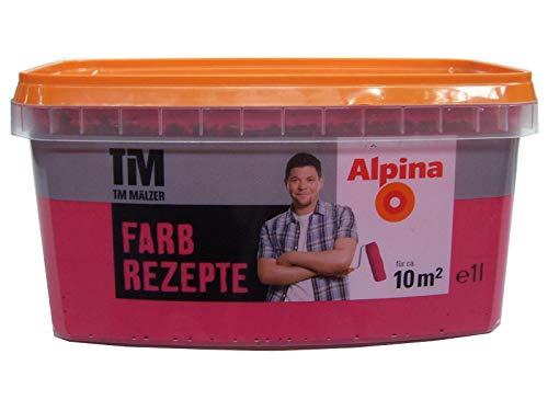 ALPINA Farbe Tim Mälzer Farbrezepte 1 L, Granatapfel