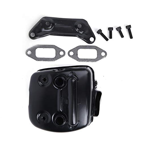 Accesorio de motosierra, con kit de mangueras de accesorios de accesorios para silenciador de hierro. Kit de silenciador de escape