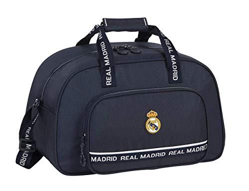safta 712034273 Bolsa de deporte, Bolso de viaje Real Madrid CF