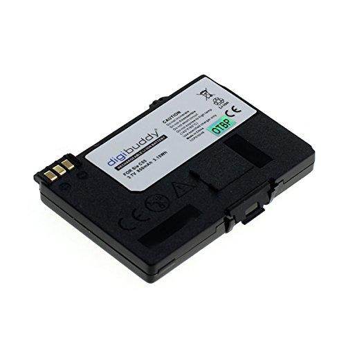 digibuddy Akku für Siemens A55 / A75 / C55 / M55 / MC60 / S55 / Gigaset SL55 / SL56 / SL555 850mAh [ersetzt: EBA-510 / L36880-N5601-A100 / S30852-D1752-X1 / V30145-K1310-X250] Li-Ion