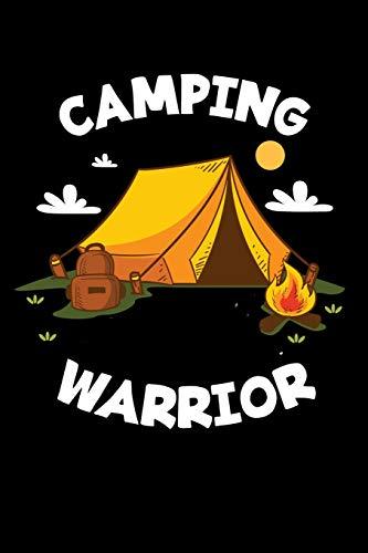 Mein Wohnmobil Reisetagebuch: Dein persönliches Tourenbuch für Wohnmobil und Campingreisen im handlichen 6x9 Format I Motiv: Camping Warrior Zelt