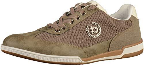 bugatti Herren 321726035900 Niedrig Sneaker, Braun, 43 EU