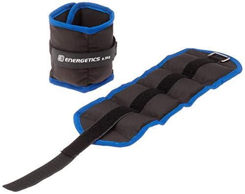 ENERGETICS Gewichtsmanschetten Gewicht Manschette, Schwarz/Blau, 2 x 0.5
