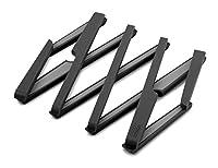 joseph joseph stretch sottopentola in silicone, fino a 55 cm, nero
