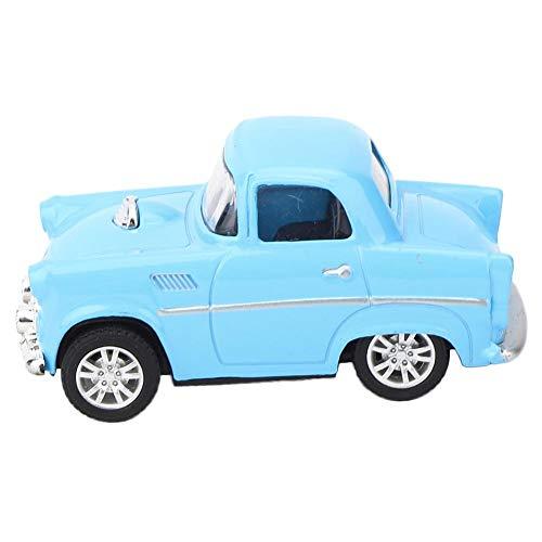 LetCart Modell Auto Toy-Alloy Vintage Simulation Fahrzeug Modell Kinder Kid Pull-Back Fahrzeug Spielzeug(Blau)