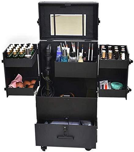 ALYR Profesional Maleta para Maquillajec, Organizador para Maquillaje Cosmetic Cases Organizador con...