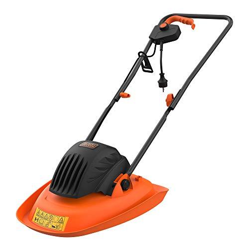 Black+Decker Rasenmäher mit Kabel, 1200 W, Elektro-Rasenmäher, 30 cm, 3 verstellbare Höhen, 20, 40 und 60 mm, Leichter Rasenmäher mit Griff, Typ Kinderwagen, ideal für bis zu 250 m², BEMWH551-QS