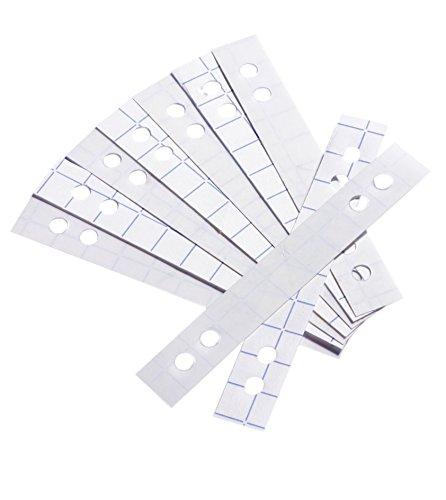 Durable Lochverstärkerstreifen (für 60 - 80 mm Lochung) Beutel mit 50 Stück, transparent, 807819