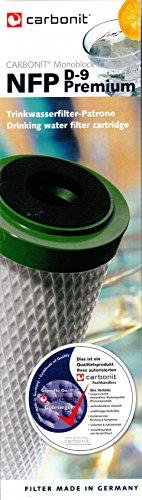 Carbonit NFP Premium D-9 Filterpatrone für Sanuno Duo Vario mit mehr Durchfluss