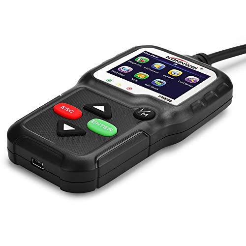 KONNWEI Scanner KW860 OBD-II Strumento Diagnostico per Auto Lettore Guasti Motore Auto Cancella//Ripristina Scanner Diagnostico Codici Guasto