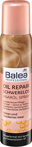 Balea Professional Haarölspray Oil Repair Schwerelos, 100 ml