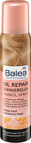 Balea Professional Haarölspray Oil Repair Schwerelos, 100 ml