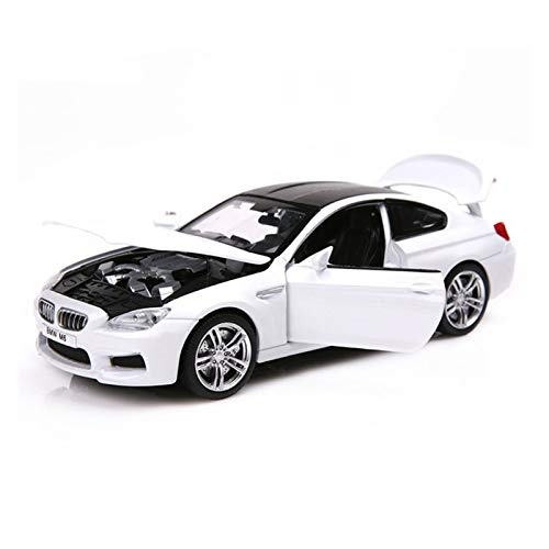 GUOQIANRU 1:32 para B-M&W SUV Coupe Simulación De Vehículos De Juguete Die-Cast Model CarAlloy Pull Back Toys Collection Gift Off-Road Car Coche Modelo Fundido a presión (Color : 3)