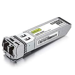 Data Rate: 10G Wavelength: 850-nm; Reach: up to 300m Fiber Type: Dual LC OM3/OM4 multi-mode fiber Wide Compatibility - for Cisco, Ubiquiti, Netgear, D-Link, TP-Link, Linksys, Broadcom, Edge-core, EMC, F5, Meraki, Mikrotik, Norkia, QTC, Supermicro, an...