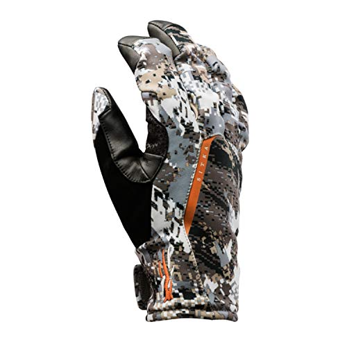 SITKA Gear Downpour GTX Concealment Waterproof Insulated Articulated Hunting Gloves, Optifade Elevated II, X-Large