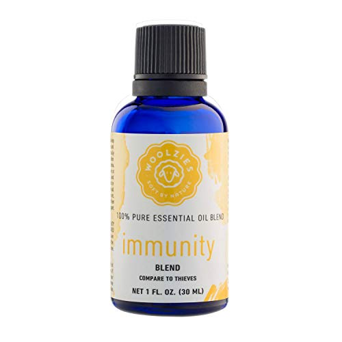 Price comparison product image Woolzies Immunity Synergy Blend / for Sinus Health and Cold / 100% Pure,  Undiluted,  Natural Aromatherapy,  Therapeutic Grade
