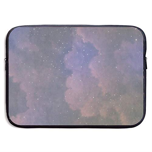 Waterproof Laptop Sleeve 13 inch, Starry Sky Pattern Business Briefcase Protective Bag, Computer Case Cover for Ultrabook, MacBook Pro, MacBook Air, Asus, Samsung, Sony, Notebook