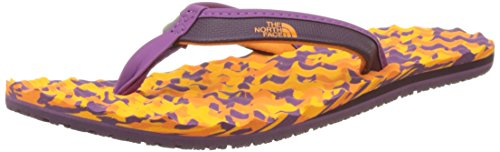 The North Face Base Camp Mini, Chanclas Mujer, (Brown/Coral)
