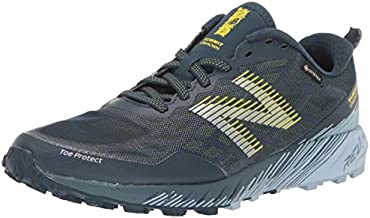 New Balance Women's Summit Unknown V1 Running Shoe, Supercell/Winter Sky/Sulphur Yellow, 7.5 Wide