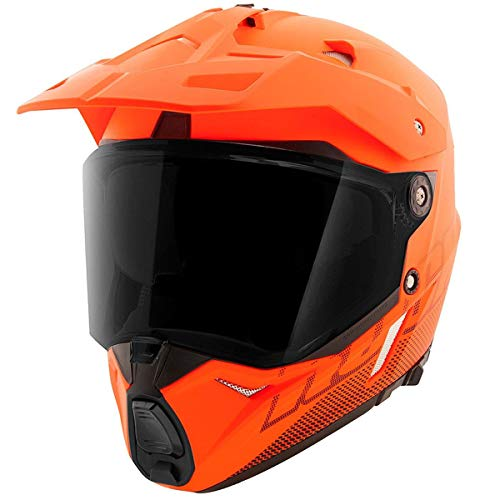 Casco De Moto Naranja  marca Joe Rocket