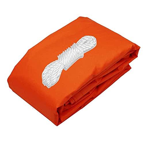 XQKXHZ Vela De Sombra, Vela De Sombra Rectangular Protección Rayos UV, Toldo Resistente E Impermeable, para Patio Exteriores Jardín (2x1.8m/6.6 'x 5.9'),Naranja