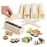 11 Stück Easy Sushi Maker Kit Tools Sushi Making Set Küche DIY für Anfänger...