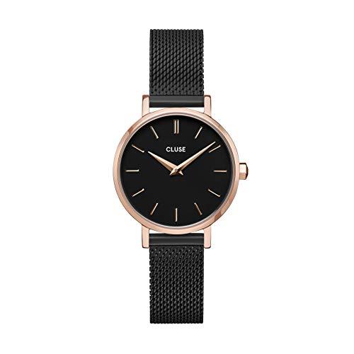 Reloj de mujer Solo Tempo Cluse Boho Chic. Caja de acero y tratamiento PVD oro rosa, cw0101211004