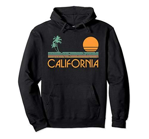 Vintage California Beach Pullover Hoodie