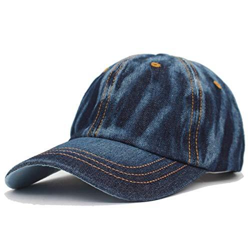 Baseball Kappe Hut Cap Baseball Cap Frauen Hüte Für Männer Snapback Caps Casual Solid Washed Trucker Blank Knochen Jeans Jeans Dad Hat Caps Darkjean