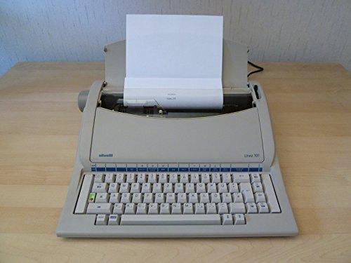 Olivetti Linea 101 - Máquina de escribir eléctrica con rueda de tipo,...