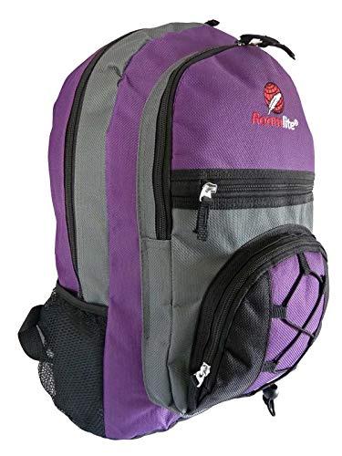 Roamlite Kinderrugzakken voor school - Meerdere vakken - Medium A4 Folder Size Tassen - 0.5kg - 25 Liter - 46cm x 33 x 20 RL37M